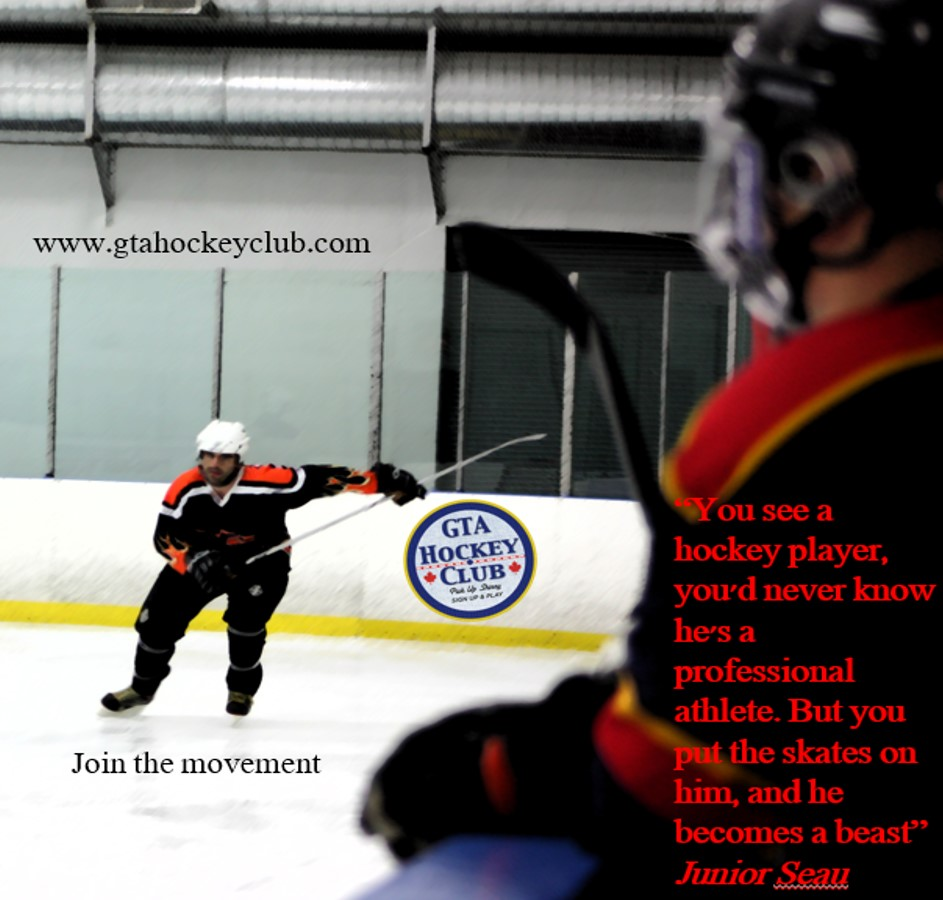 GTA Hockey Club is the perfect place for you to play pick up hockey