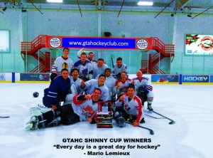 White Team are the Shinny Cup Champs